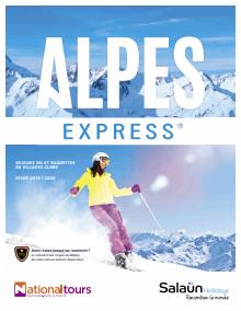 Consulter le catalogue Alpes Express 2019/2020